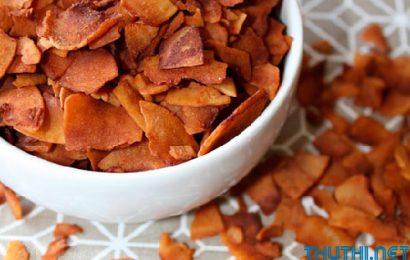 Cách làm mứt dừa khô – Ăn vặt cũng ngon