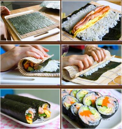 cach lam sushi Nhat Ban thom ngon 5