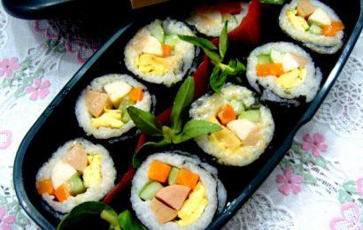 Cách làm sushi Nhật Bản cực chuẩn và đơn giản