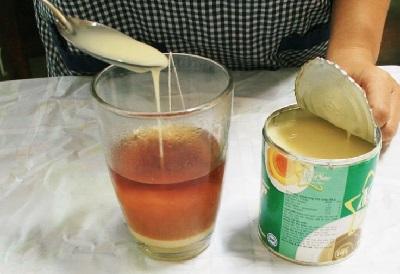 cách làm trà sữa thạch củ năng 7