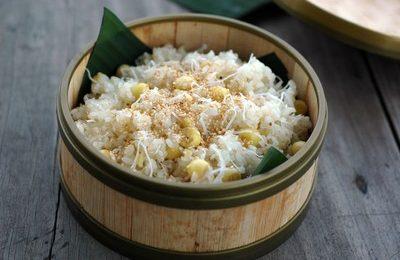 Cách nấu xôi dừa hạt sen ngon cho bữa sáng ấm bụng