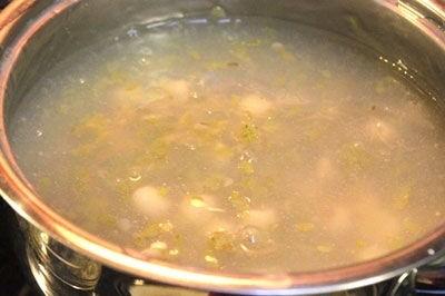 Cách nấu chè hạt sen bột sắn với cốm, bổ ngon truyền thống