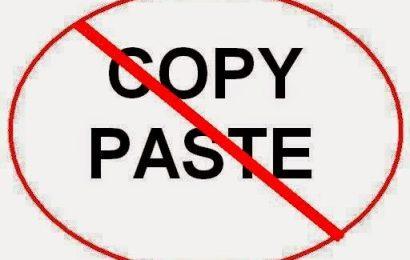 Cách copy nội dung từ những trang web cấm copy