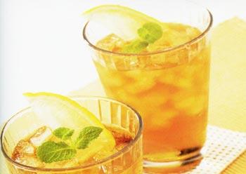 Lạ miệng độc đáo với trà mật ong cam tươi trân châu