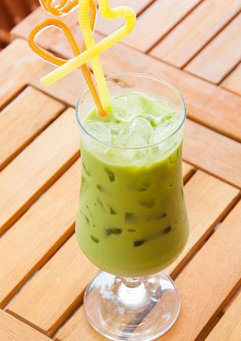 Cách làm trà sữa Thái Lan thạch vị trà xanh thơm mát