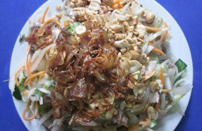 Đơn giản tại nhà với cách làm gỏi vịt bắp cải