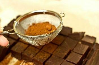 cach lam nama chocolate cacao ngon 7