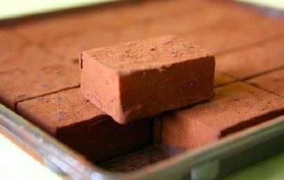 Ngọt ngào với cách làm nama chocolate cacao vô cùng đơn giản