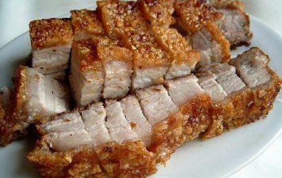 Cách làm thịt ba chỉ rán ngũ vị hương ngon ngây ngất