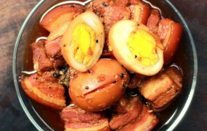 Cách nấu thịt kho tàu với trứng vịt chuẩn vị miền Nam