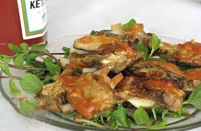Thú vị với món sườn xào chua ngọt chay từ măng khô và cùi dừa