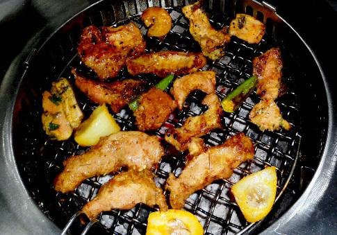 Thịt ba chỉ nướng sa tế – Thực đơn cho ngày cuối tuần
