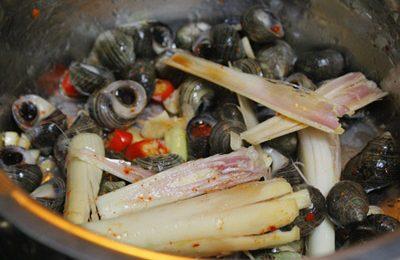 Cách làm ốc xào sả ớt cay ngon hấp dẫn tuyệt phẩm cho mùa đông rét