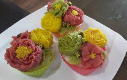 Bật mí bạn cách nấu món xôi hoa đậu tinh tế lạ mắt