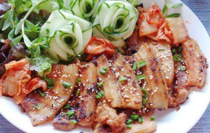 Cách ướp thịt ba chỉ nướng kiểu Hàn Quốc ngon quên lối về