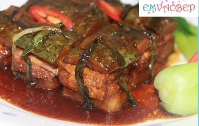 Thịt kho tàu chay – món ngon từ nguyên liệu thiên nhiên