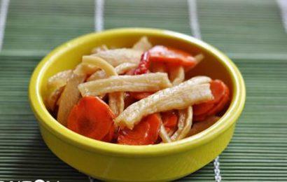 Cách làm củ cải trắng ngâm nước mắm đổi vị, ngon cơm