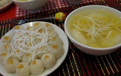 Cùng đón Tết Hàn thực với cách làm bánh trôi bánh chay bằng bột nếp khô