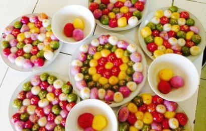 Hướng dẫn cách làm bánh trôi nhiều màu sắc ngon đẹp mắt cực chất cho Tết Hàn thực