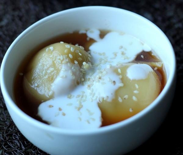 Bật mí cách làm bánh trôi nước cốt dừa ăn là nghiền