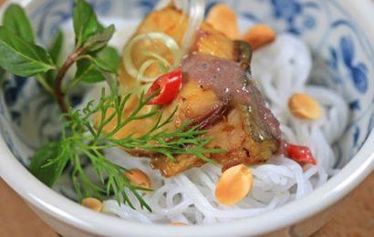 Cách làm bún chả cá lã vọng thơm ngon nức tiếng