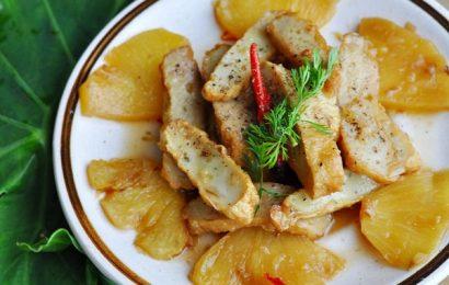 Đổi vị cuối tuần với cách làm món chả cá kho đậm đà, lạ miệng