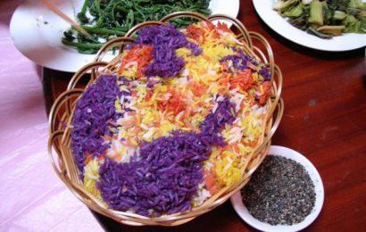 Cách làm món xôi 7 màu đặc sắc thơm ngon, bắt mắt