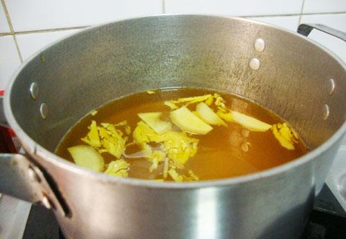 cách làm nước đường bánh trôi
