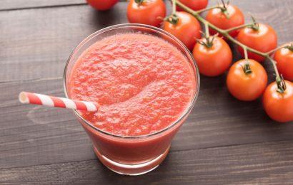 Đã miệng mát da với cách làm sinh tố cà chua cực ngon