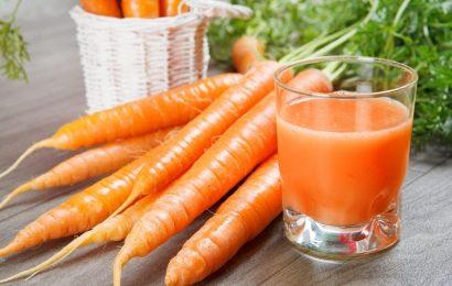 Vào bếp học ngay cách làm sinh tố cà rốt chỉ trong nháy mắt