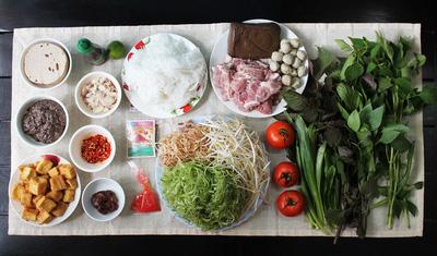 Cách nấu bún riêu cua miền Nam ngon