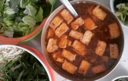 Cách nấu bún riêu cua ngon mang phong vị miền Trung