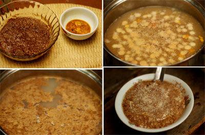Cách nấu lẩu riêu cua sườn sụn ngon