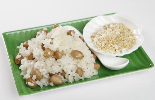 Cách nấu xôi đậu phộng