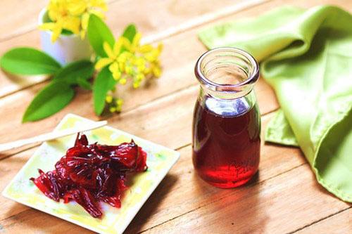 Hạt hoa atiso đỏ ngâm rượu như thế nào