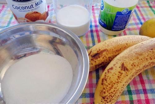 Cách làm kem chuối tiêu mát mẻ cho ngày hè oi ả 1