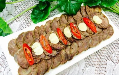 Cách làm món bắp bò ngâm chua ngọt cho cả nhà lai rai