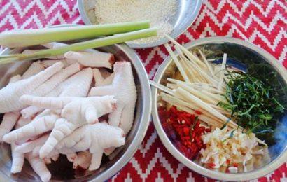 Hướng dẫn làm chân gà ngâm chua ngọt – Ăn vặt cũng ngon