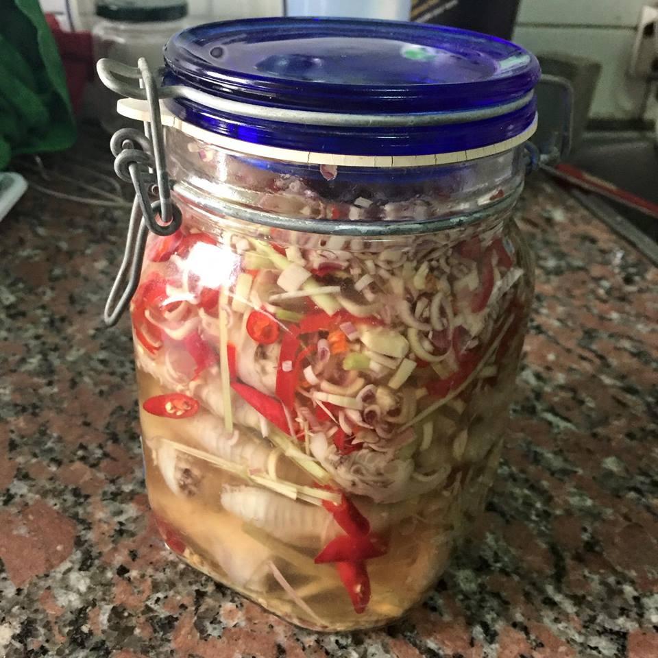 Cách làm món chân gà ngâm chua ngọt ăn mãi không chán 5