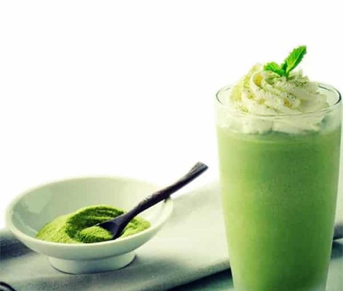 Cách làm sinh tố trà xanh