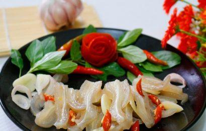 Hướng dẫn cách làm tai lợn ngâm chua ngọt dai ngon lai rai