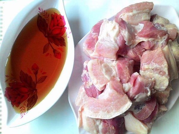 Cách làm thịt ba chỉ ngâm nước mắm mềm ngon 2