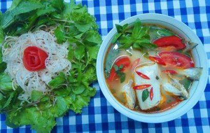 Xua tan cái nóng ngày hè với cách nấu canh chua cá khoai