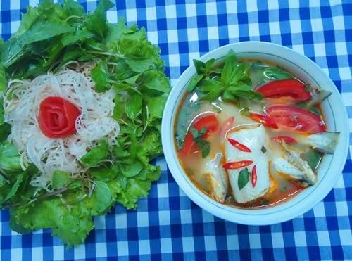 Cách nấu canh chua cá khoai