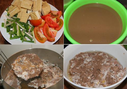 Cách nấu canh riêu cua ăn bún ngon, ngọt 3