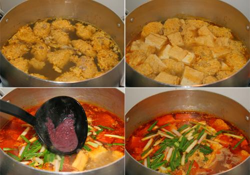 Cách nấu canh riêu cua ăn bún ngon, ngọt 4