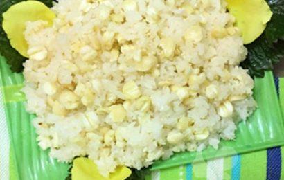 Cách nấu xôi hạt sen thơm bùi ăn ngon cho bữa sáng đầu tuần