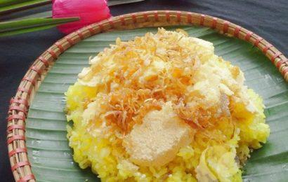 Cách nấu xôi xéo Hà Nội béo ngậy, thơm ngon cho bữa sáng đủ chất
