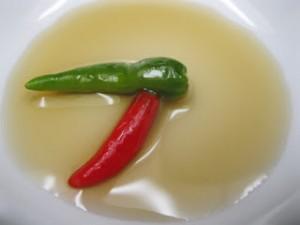 Cách ngâm ớt xanh với nước mắm đơn giản