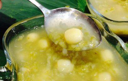 Công thức nấu chè nha đam đậu xanh hạt sen thanh mát, tốt cho sức khỏe